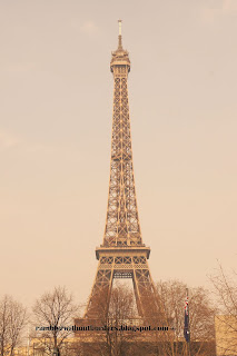 Eiffel Tower in sepia, Paris, France
