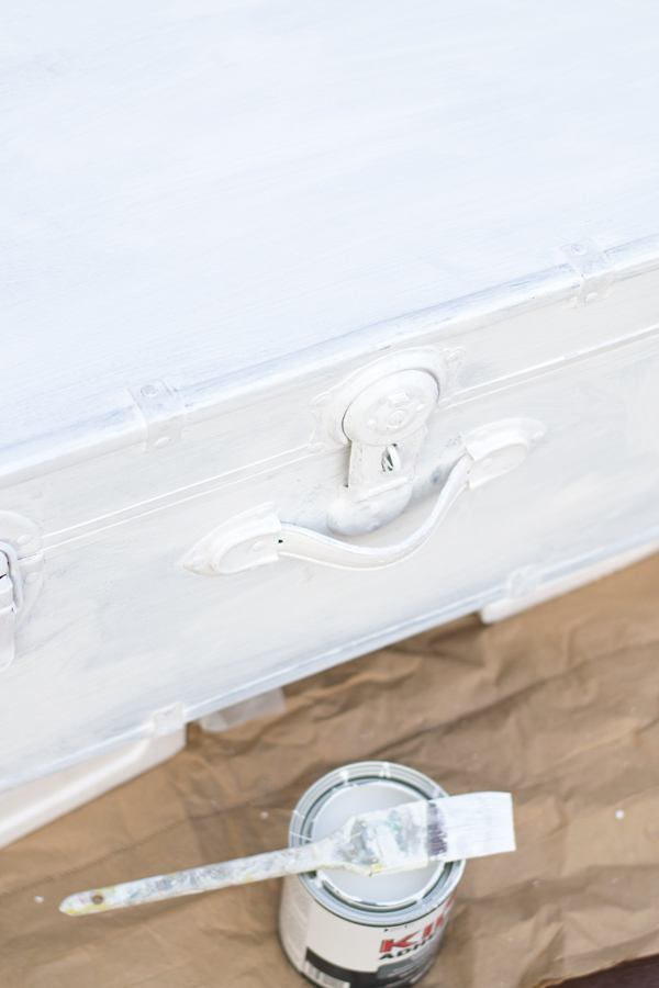 DIY painted trunk