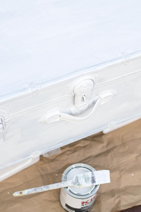 DIY painted trunk