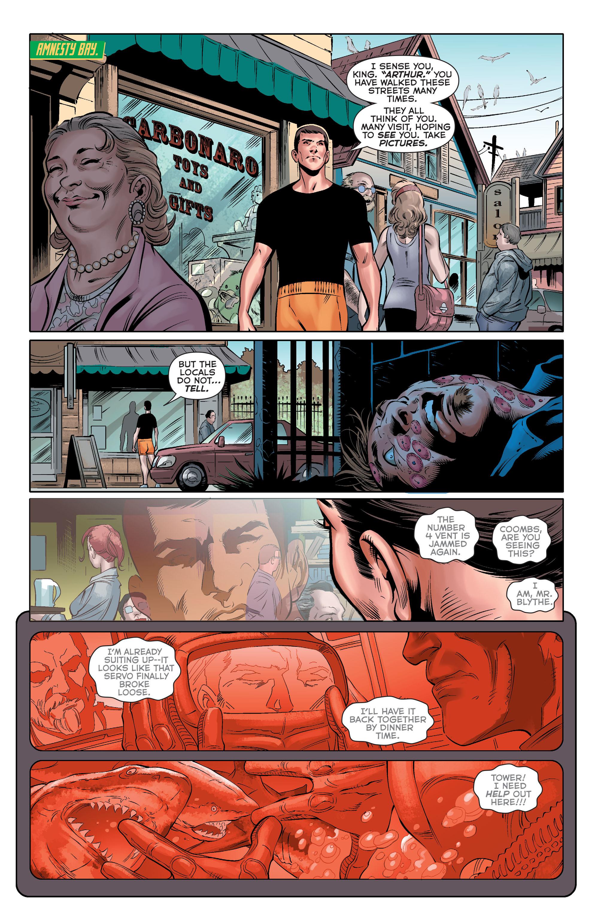 Read online Aquaman (2011) comic -  Issue #33 - 14