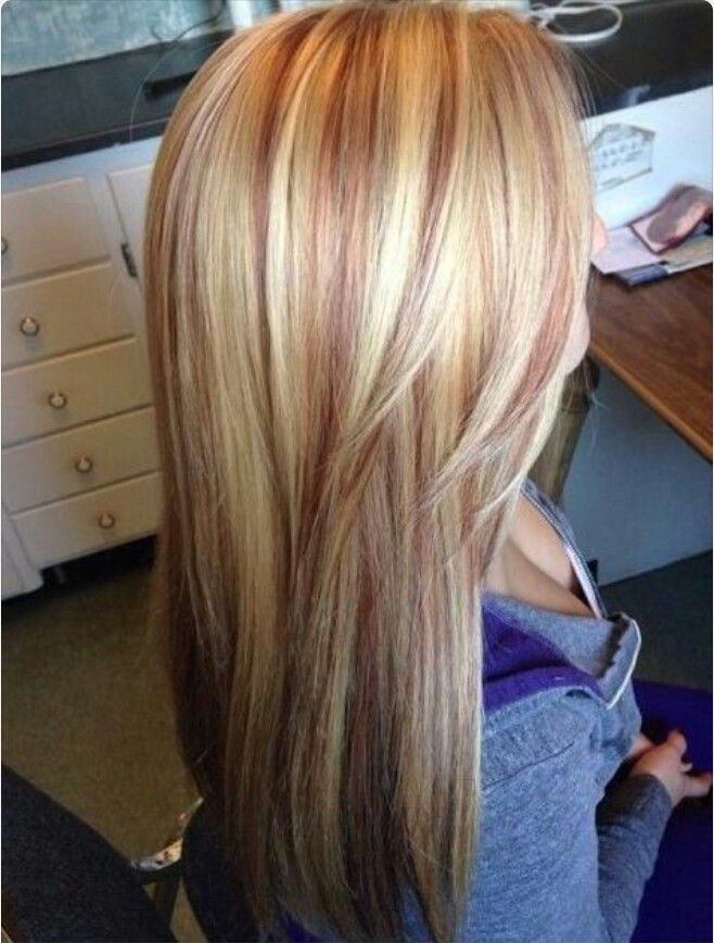 Strawberry Blonde Highlights