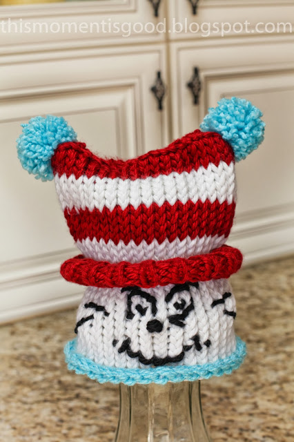 Loom Knit Dr Seuss Hat Free Pattern Loom Knitting By This