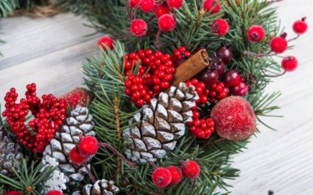 Το χριστουγεννιάτικο στεφάνι, έχει την ιστορία του