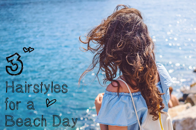 3 Easy Hairstyles for a Beach Day