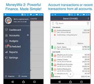 MoneyWiz 2 - Aplikasi Bisnis Online Android