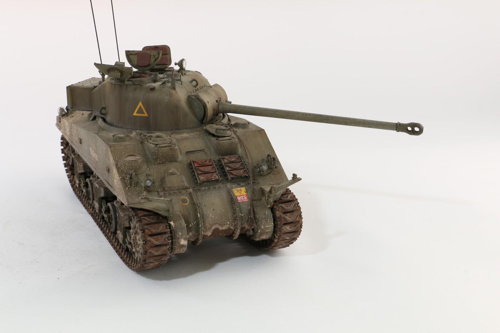 Tamiya/ Asuka 1/35 Sherman Firefly VC - Weathering
