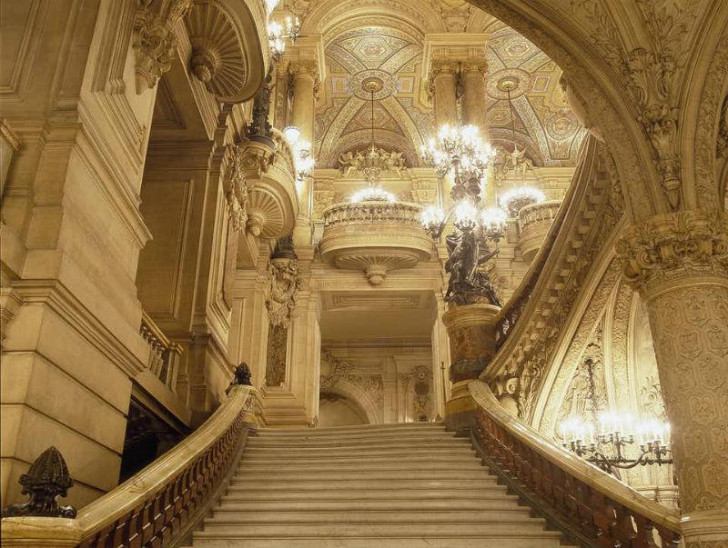 Gran Escalera 2 de la Ópera Garnier