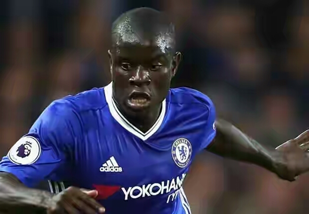 Kante is close to securing back-to-back league titles after becoming a permanent fixture in Conte's first team. And Luiz his hoping he continues to impress. Chelsea