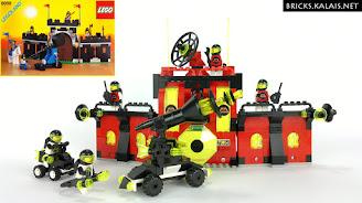 [MOC] Lego 6059 odwiedza kosmos - Stronghold z M:Tron i Blacktron