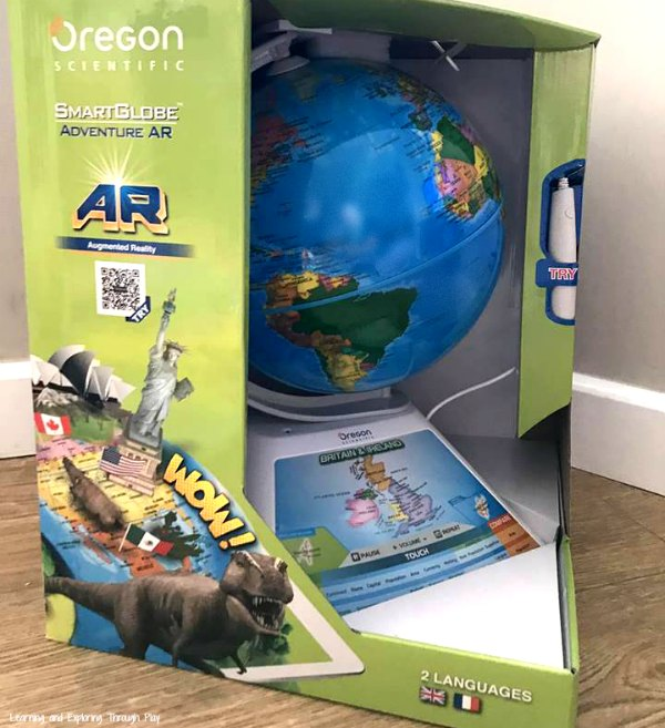 Oregon Scientific Smart Globe Adventure