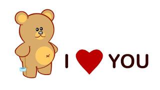 whatsapp i love you images
