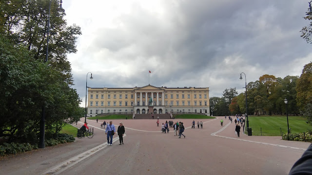 Pałac Królewski w Oslo, zwiedzanie, pałac, palace, Oslo weekend, weekend w Oslo, Norwegia