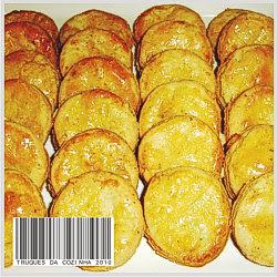 biscoito com queijo gorgonzola