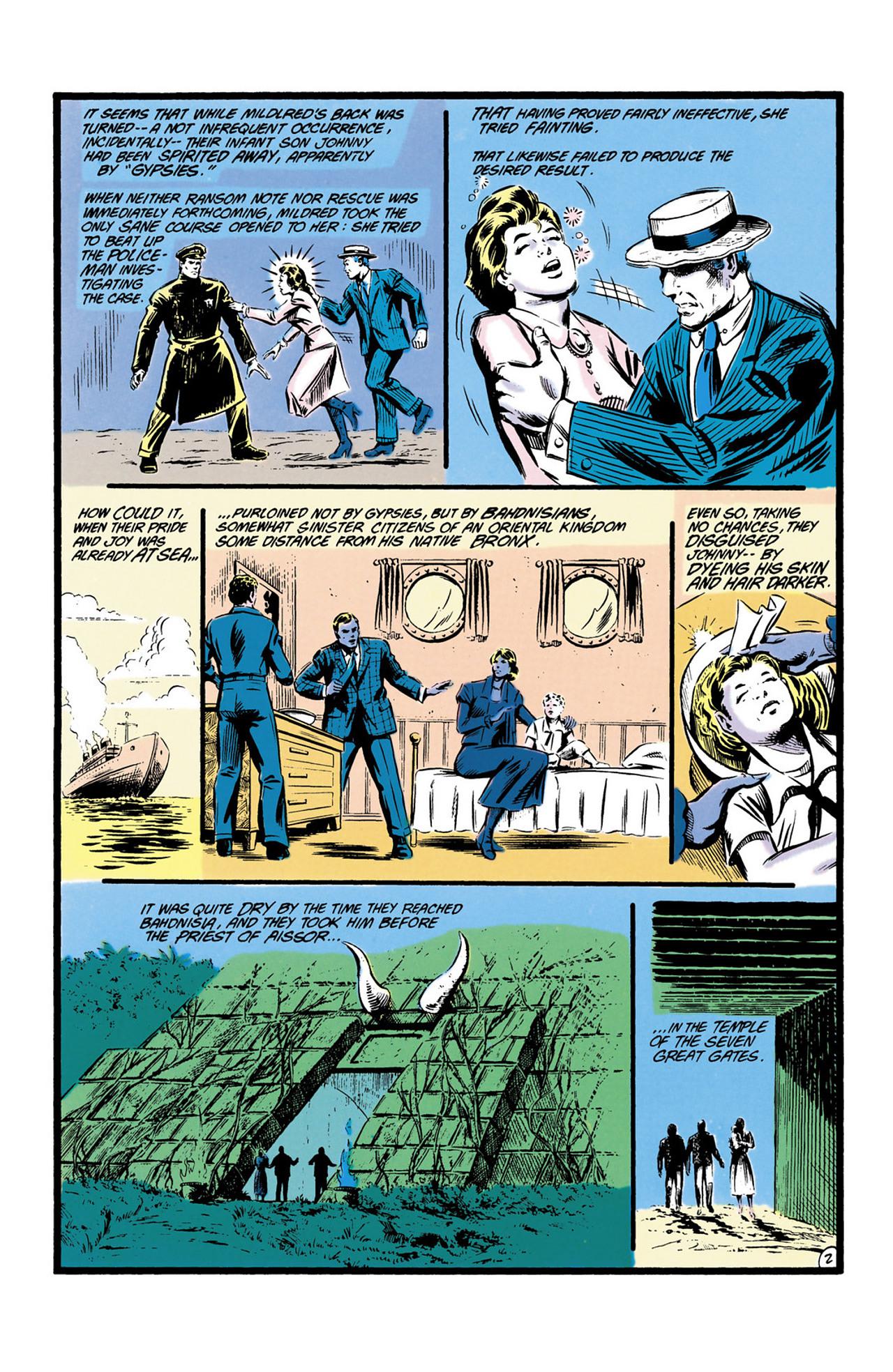 Read online Secret Origins (1986) comic -  Issue #13 - 32