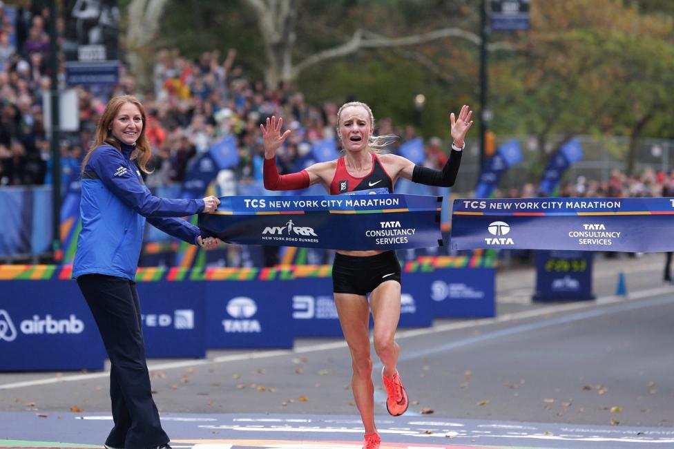 Shalane Flanagan vence en la Maratón de Nueva York 2017