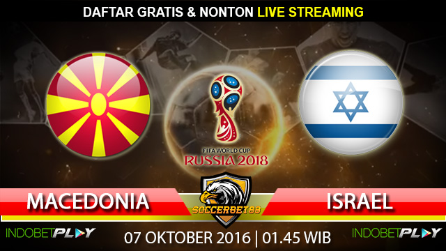 Prediksi Macedonia vs Israel 07 Oktober 2016 (Piala Dunia 2018)