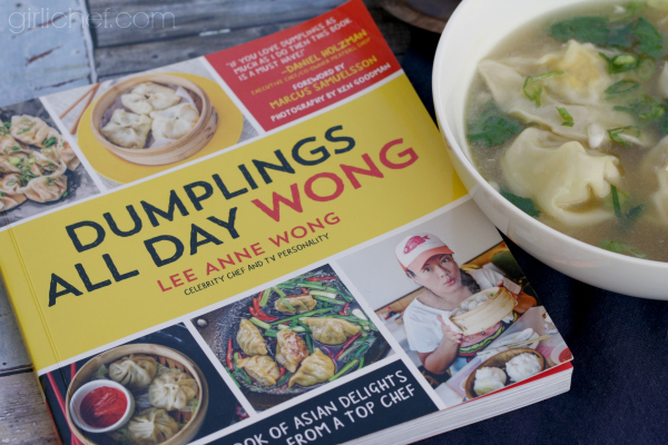 Lemongrass Chicken Dumpling Soup, a Dumplings All Day Wong tour stop