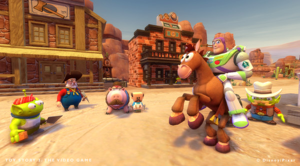 Toy Story 3 The Video Game PC Full Version Screenshot 2