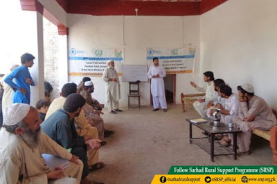 Establishment of Farmer Field Schools in Khyber Agency
