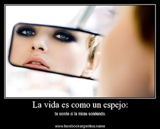 Frases Para La Vida: La Vida Es Como Un Espejo