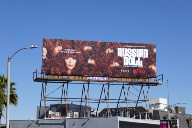Russian Doll Netflix billboard
