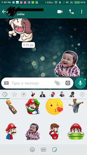 GET STICKERS FOR WHATSAPP IN ANDROID PHONES FOR FREE