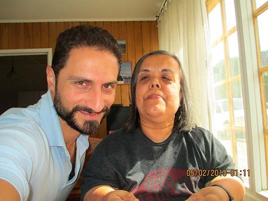Con Anahí Lazzaroni