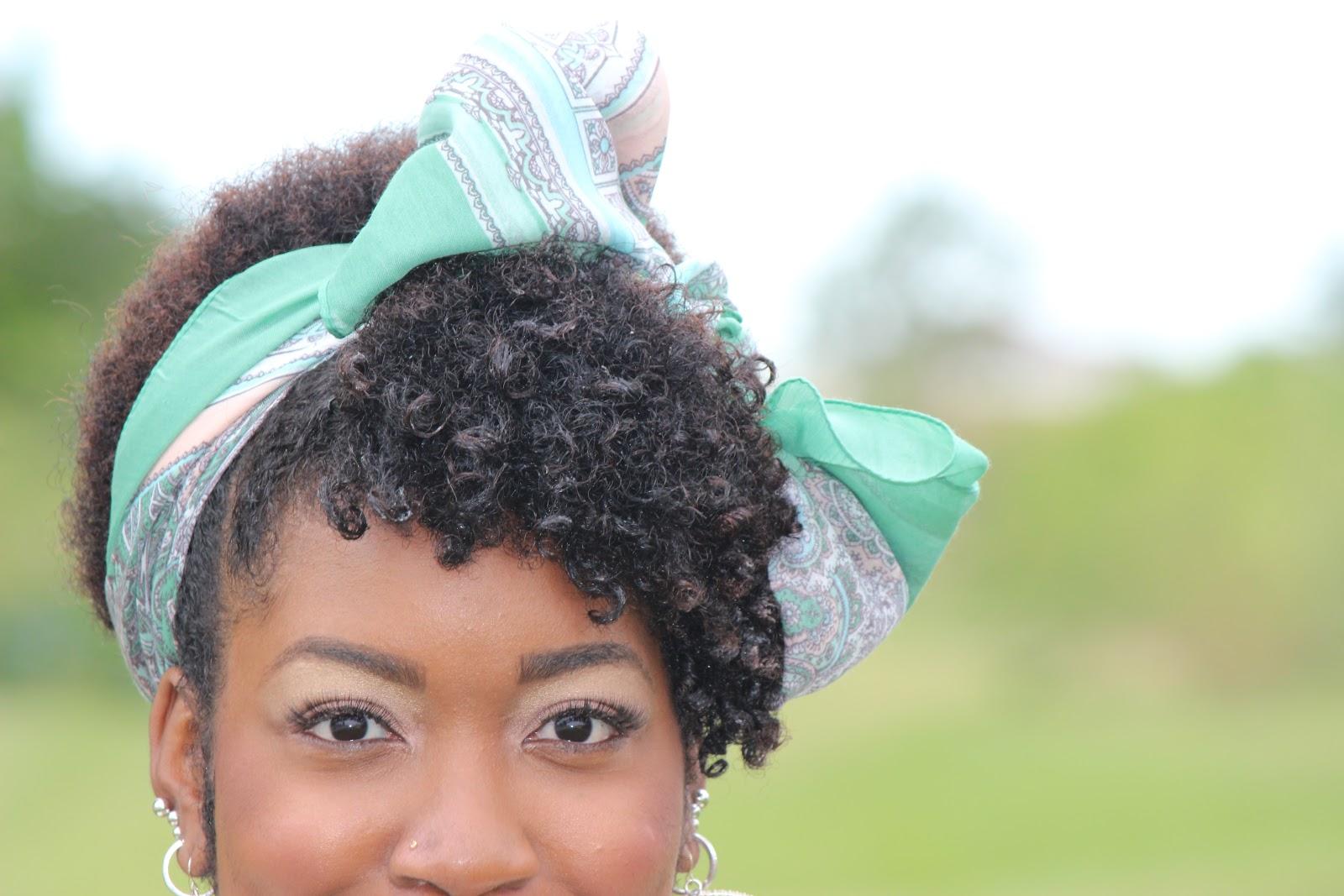 Natural Hairstllyles For Black Women Using Scarfs ...