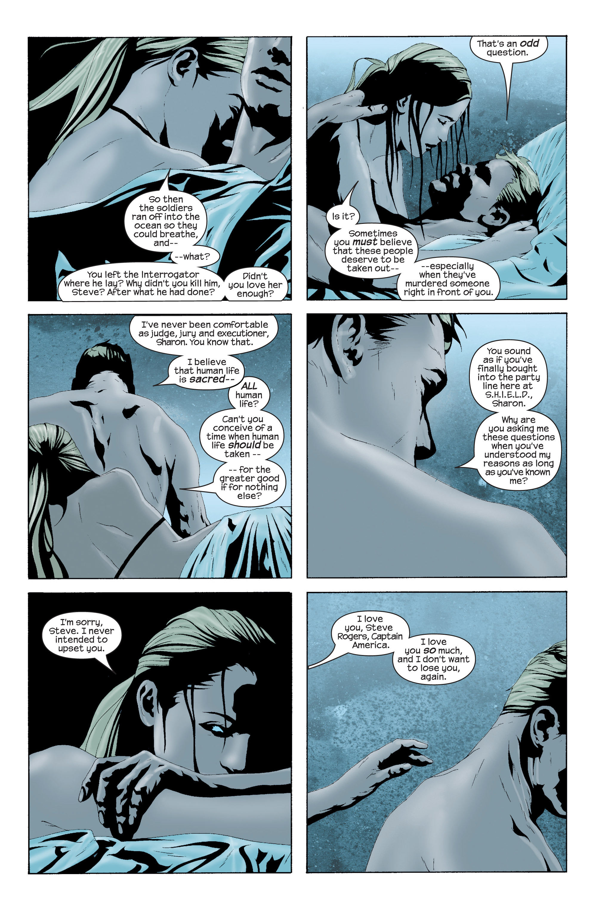 Captain America (2002) Issue #16 #17 - English 9