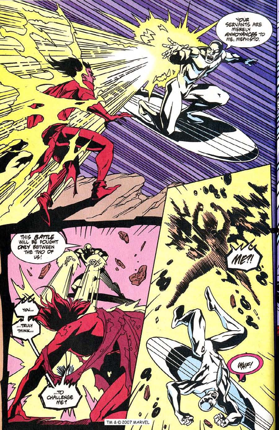 Read online Silver Surfer (1987) comic -  Issue #100 - 36