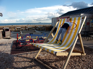 coffee cup deckchair southsea seafront