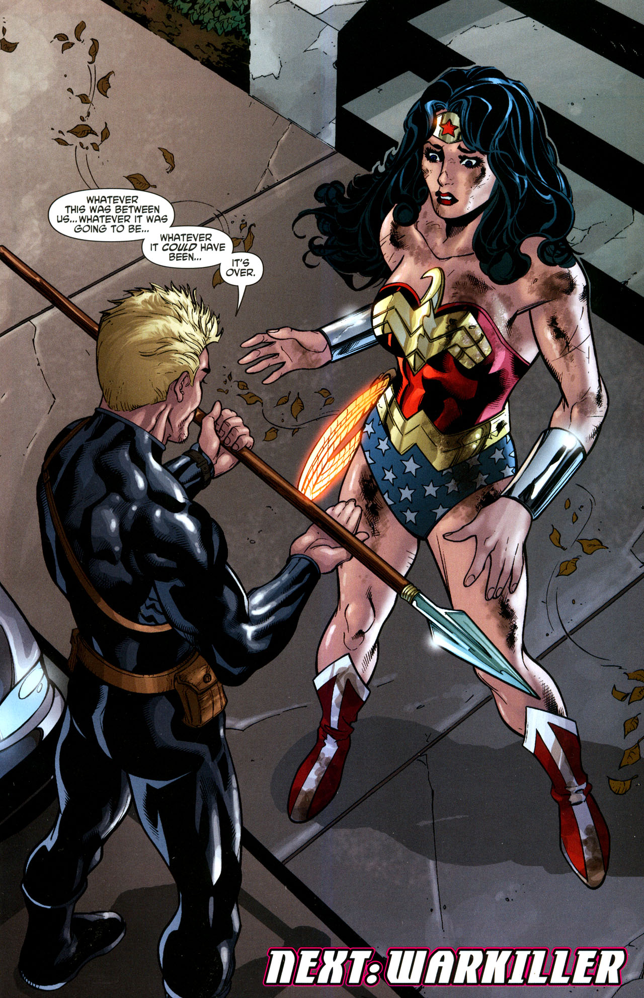 Read online Wonder Woman (2006) comic -  Issue #35 - 23
