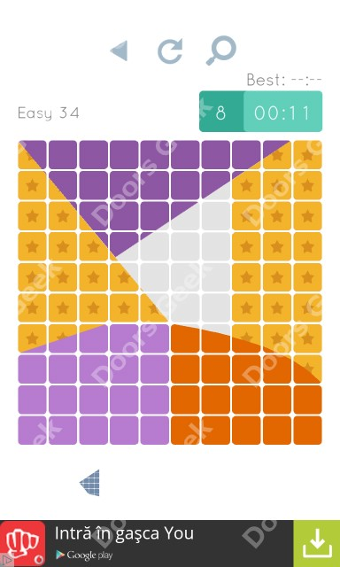 Cheats, Walkthrough for Blocks and Shapes Level 34