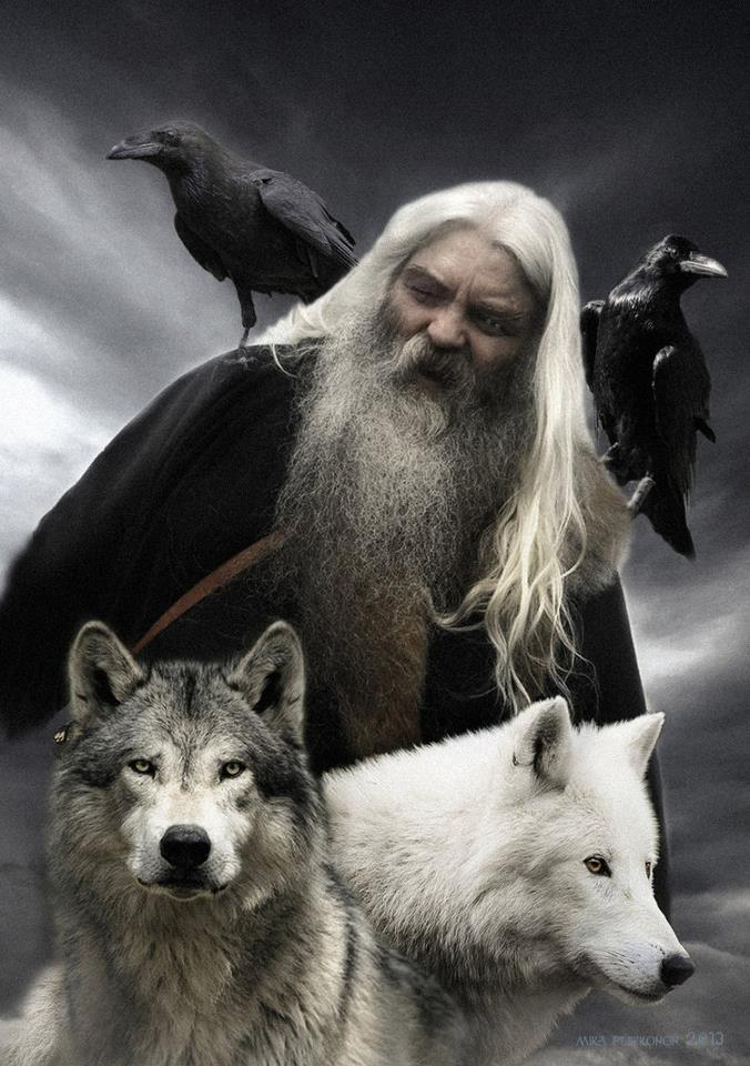 Odin with Friends