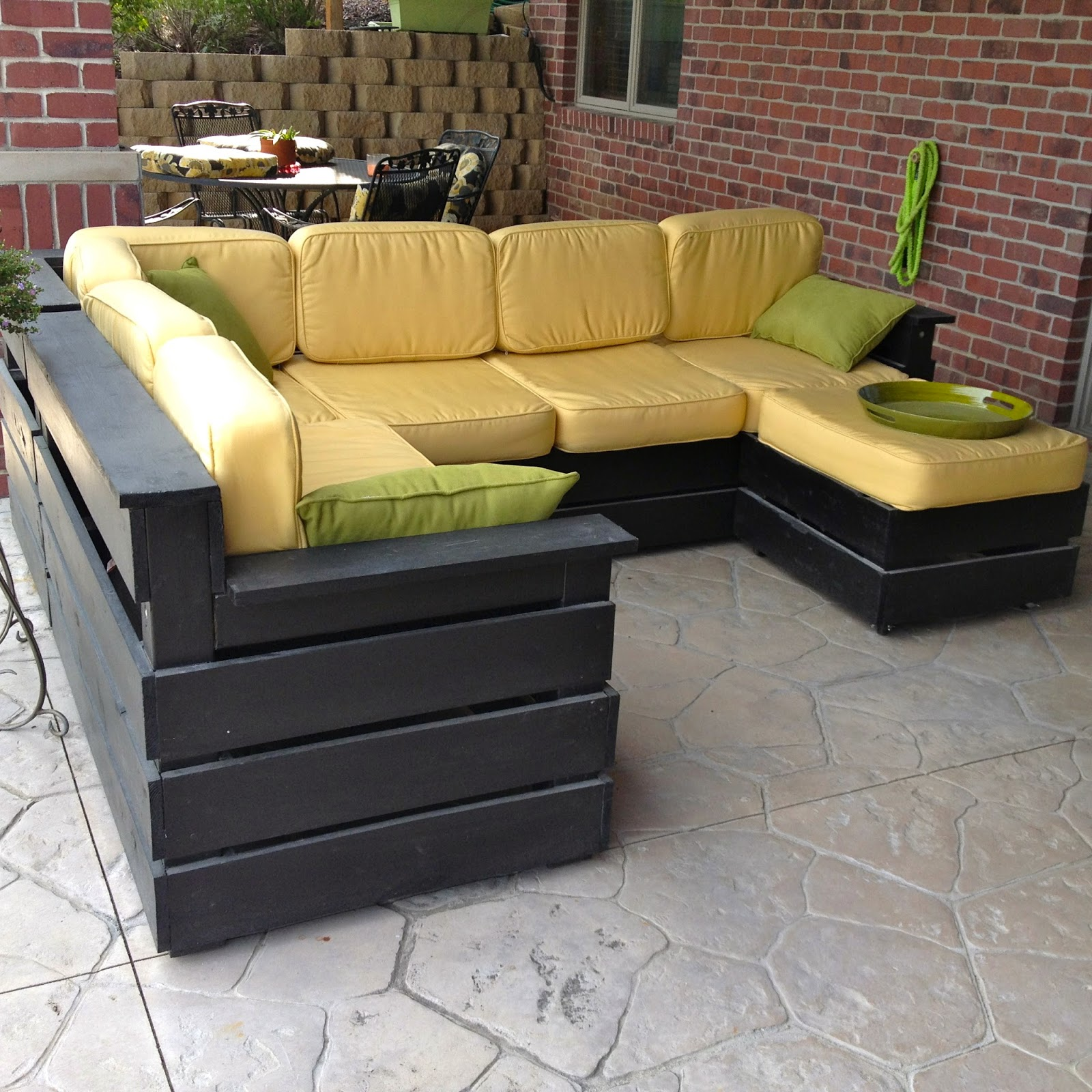 DIY Why Spend More DIY Outdoor Sectional