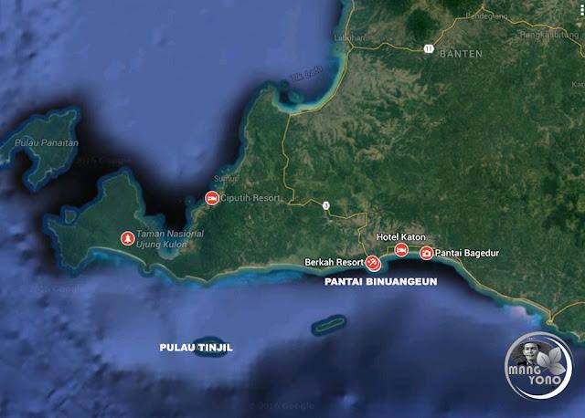 FOTO MAP : Pantai Bagedur
