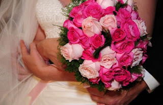 Bouquet redondo e cheio
