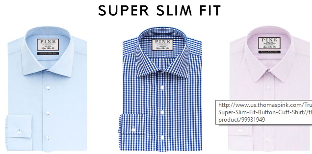 Super Slim Fit Dress Shirts