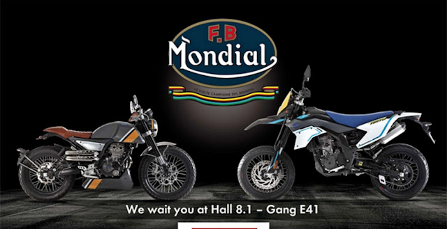 мотоциклы FB Mondial