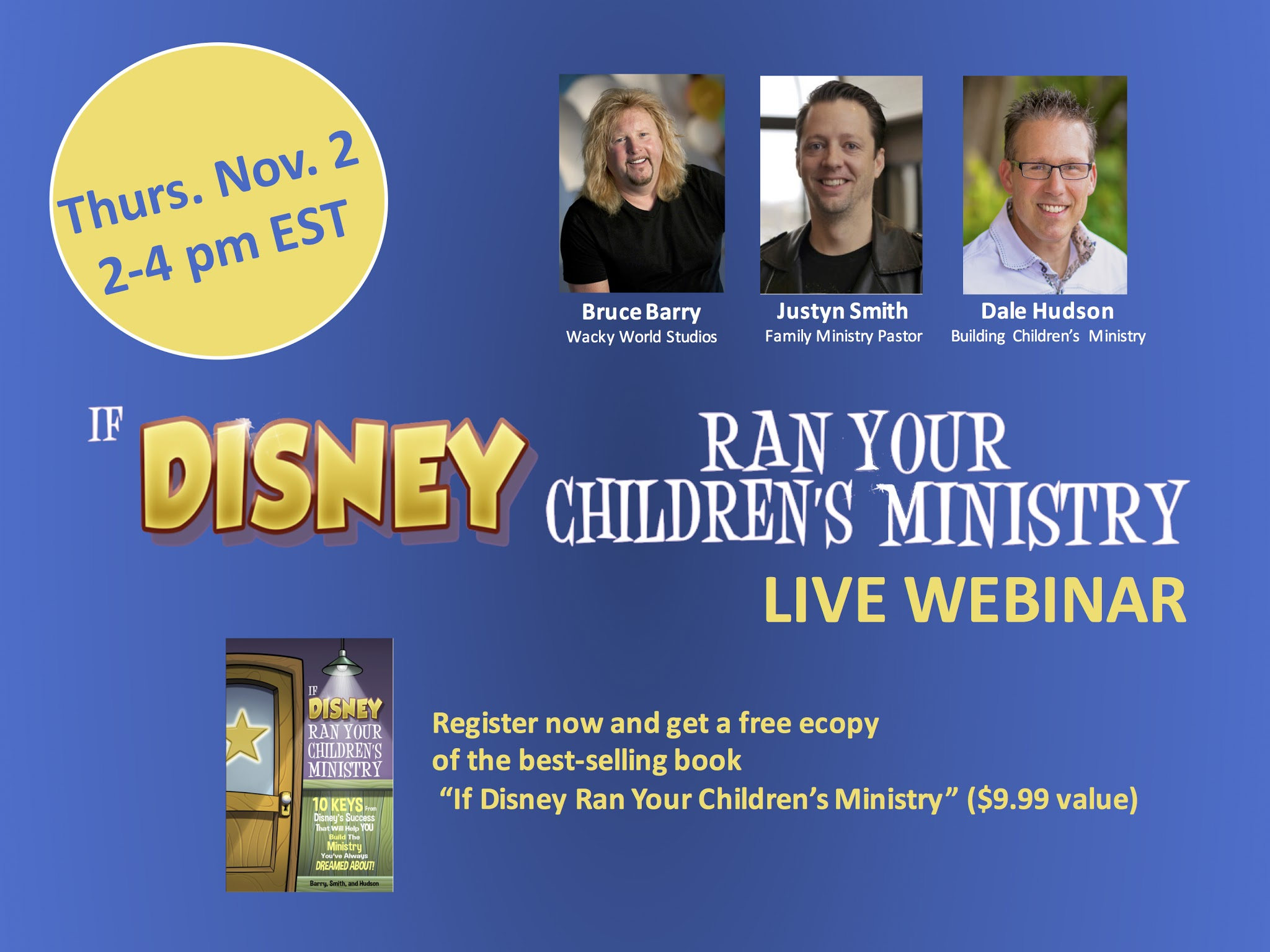 disney kidmin webinar coming nov. 2nd! ~ relevant children's ministry