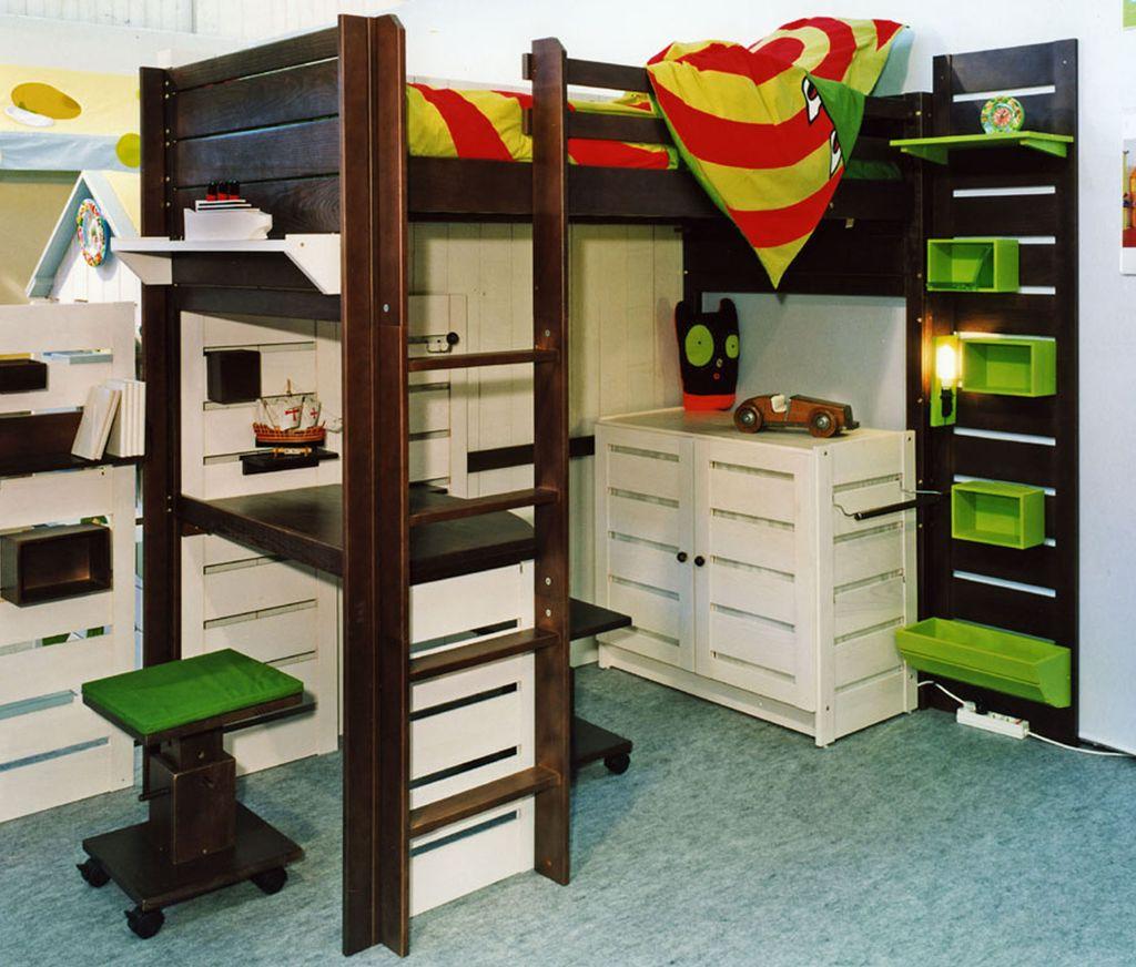 mezzanine 2 places. Black Bedroom Furniture Sets. Home Design Ideas