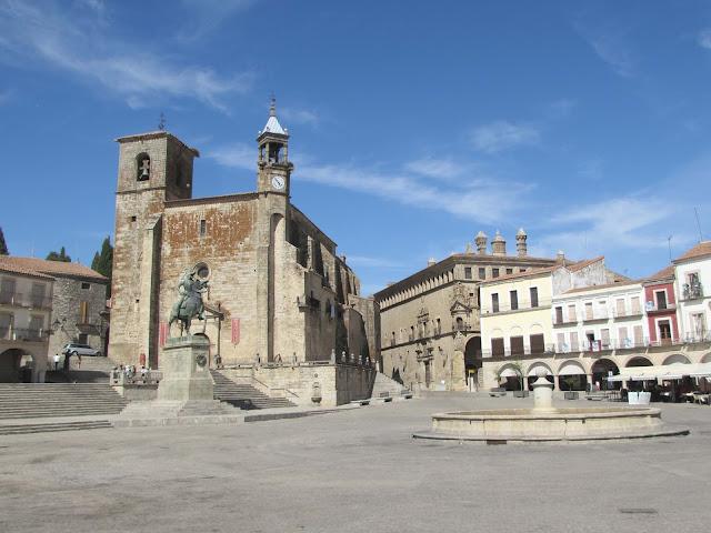Plaza Mayor; Trujillo; Cáceres; Extremadura