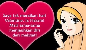 Hukum Islam Tentang Merayakan Hari Valentine Bagi Seorang Muslim