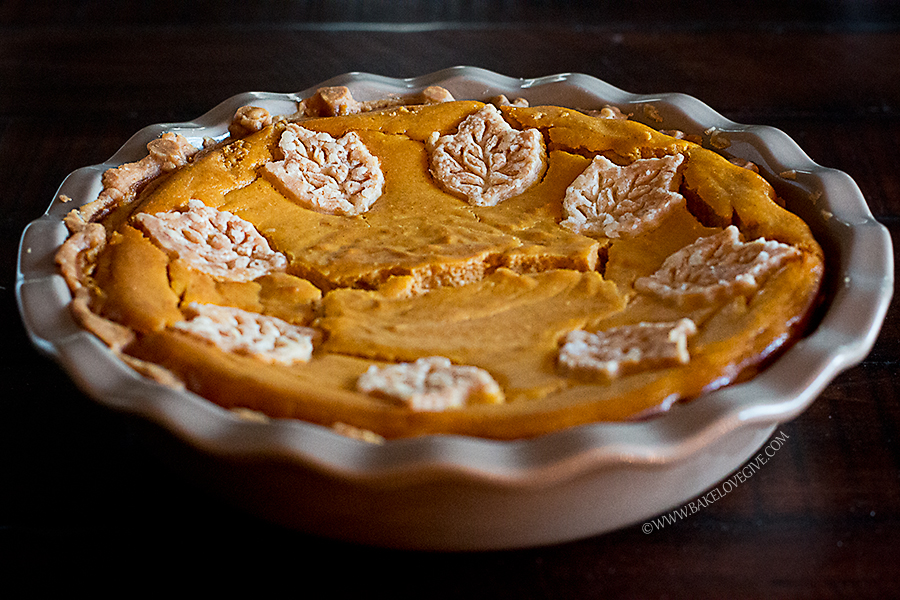 Fluffy Pumpkin Pie by Bake Love Give
