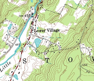 USGS Topographic map example
