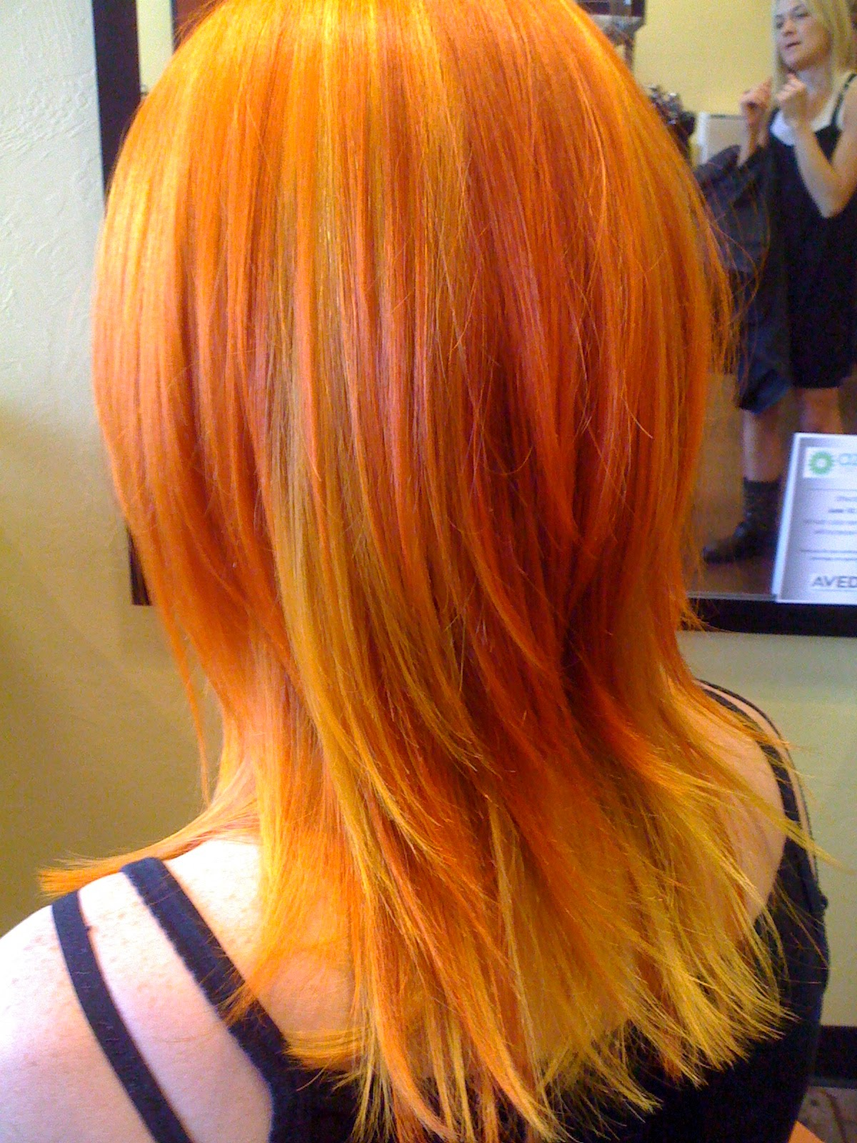 Hair By Victoria Do Fashion Colors With Aveda
