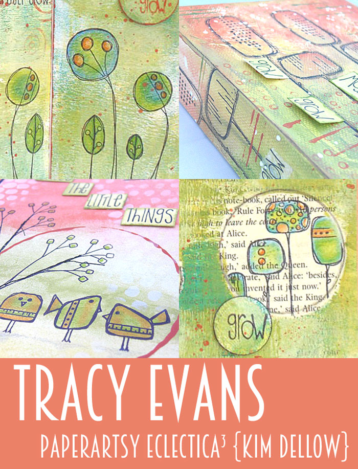 Click on the picture to go to Tracy Evans' Blog