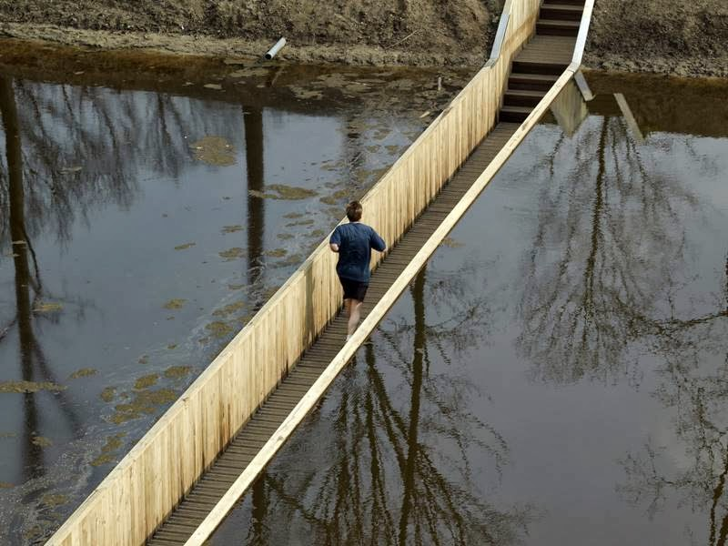The Moses Bridge | The Sunken Bridge in Netherlands