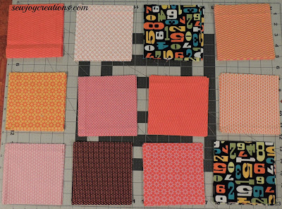 twelve bright churn dash fabric picks