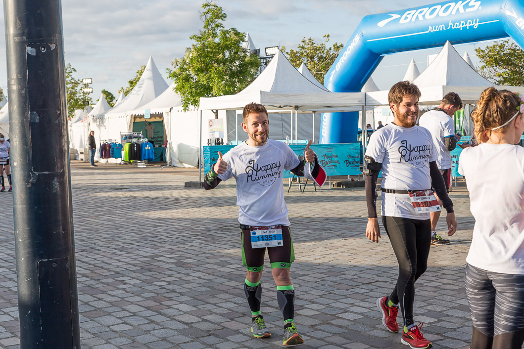 compte rendu Marathon Bordeaux